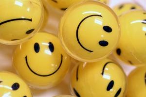 customer smiles