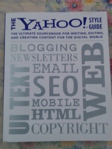Review of Chapter 1 - The Yahoo! Style Guide