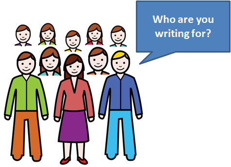 who is your audience when you are writing